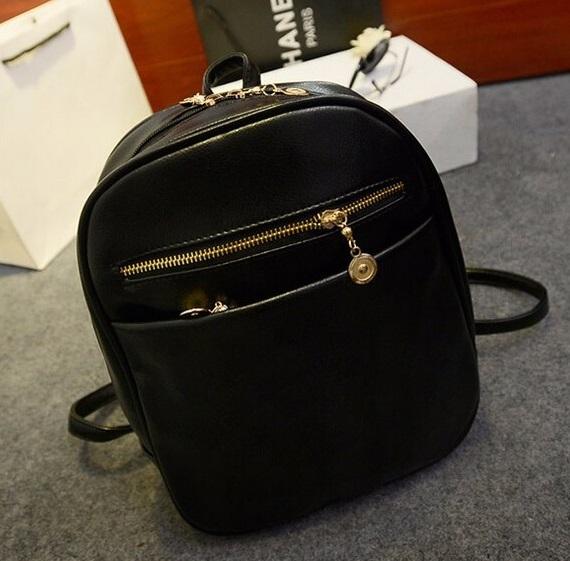 Dámsky ruksak model č.4 čierny  90785d0cb3