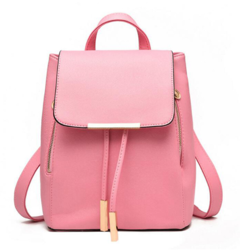 a7f2dde3b0633 Dámsky ruksak model č.9 bledo ružový | sofiashop