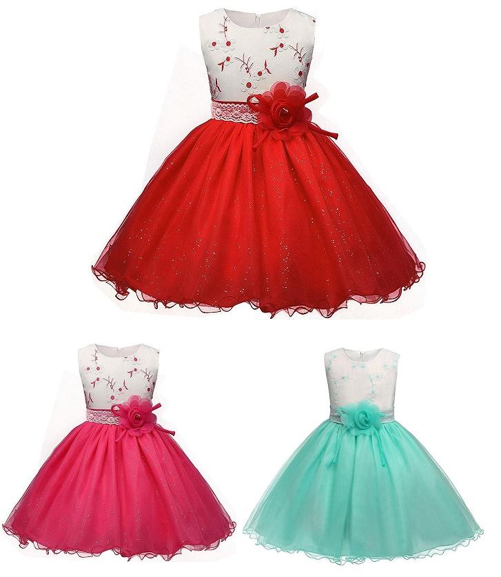 161431e0b4a3 EVELIN- dievčenské spoločenské šaty 3-10r.