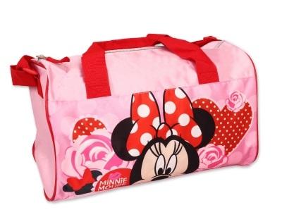 81f364f390b6c Detská športová- cestovná taška MINNIE pink | sofiashop