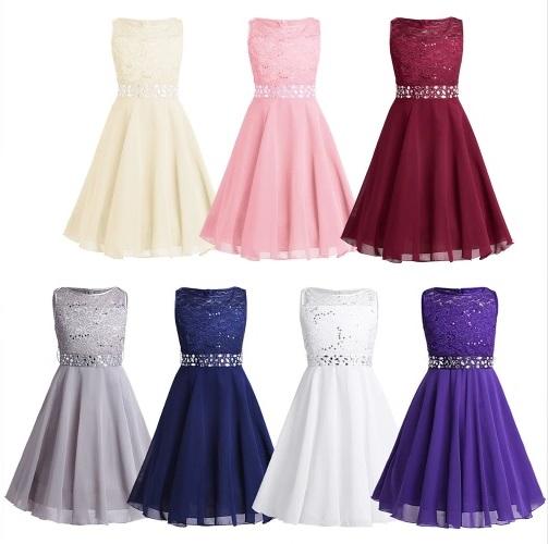 4d8b68fb4d22 JASMIN- dievčenské spoločenské šaty 6-14r.