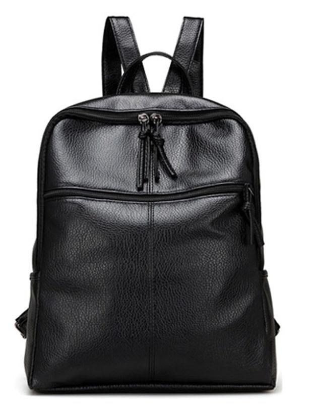 Dámsky ruksak model č.12 čierny  a434acfc13