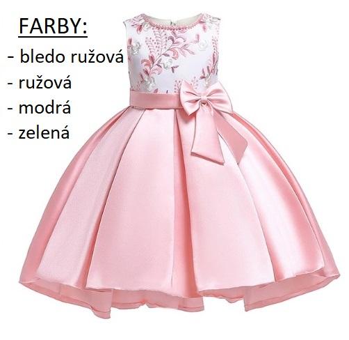 acfdb2f4c0a6 VANDA- dievčenské spoločenské šaty 3-10r.