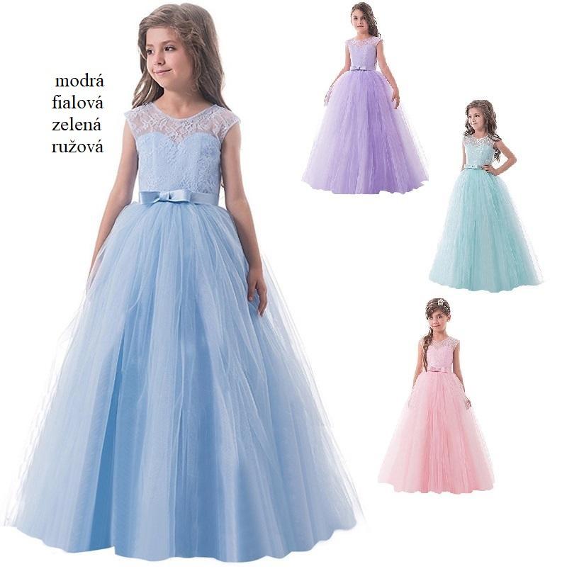 Dievčenské spoločenské šaty (6-14r.) ZOJA  ba863020126