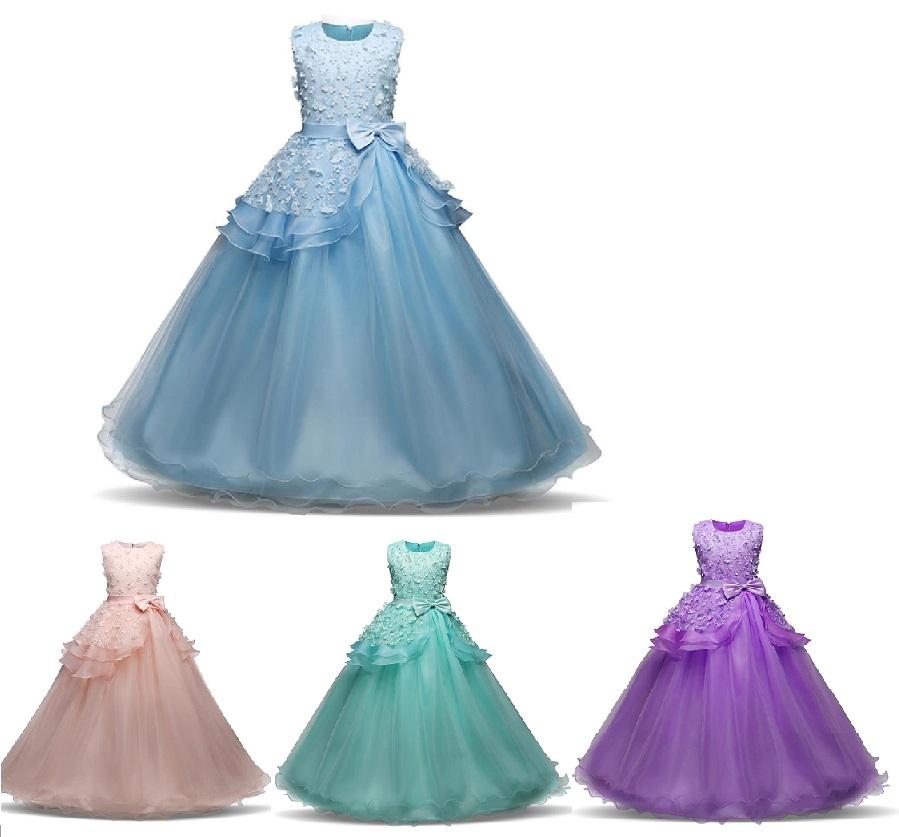 SISI- dievčenské spoločenské šaty 5-14r.  fa393593d8e