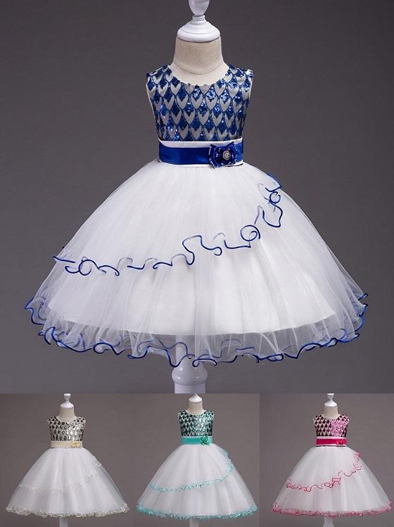 056918fe1e4d ELEGANT- dievčenské spoločenské šaty (3-14r.)