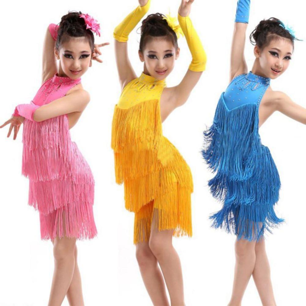 0e99e26ade2e LATINO- skladom- dievčenské tanečné šaty