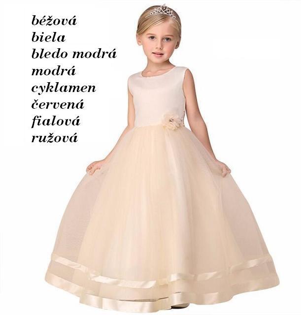8dc51bf9d255 MISISS- skladom- dievčenské spoločenské šaty