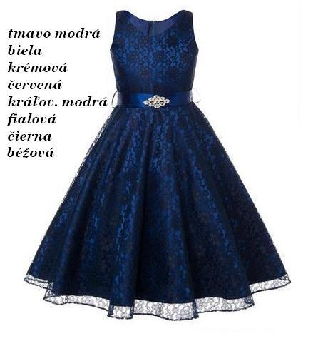54cb4c687 PRINCES- dievčenské spoločenské šaty (6-14r.