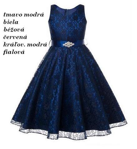 14ff1c292259 PRINCES- Skladom-dievčenské spoločenské šaty (6-14r.