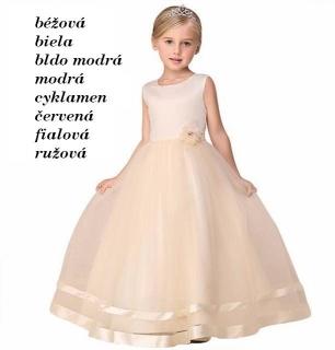 6861990cb MISISS- dievčenské spoločenské šaty (4-10r.)