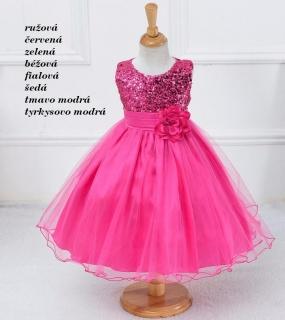 0ea970b6e MAGIC- dievčenské spoločenské šaty (2-9r.)